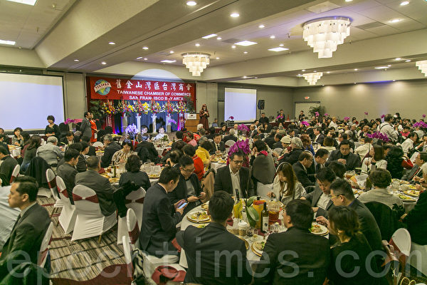 舊金山灣區台灣商會年會 聚焦行銷台灣