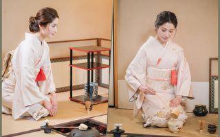田中千繪茶道戲身段優雅 跪拍4小時險腿軟
