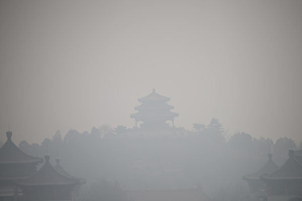 兩會剛結束 北京六個區陰霾重度污染