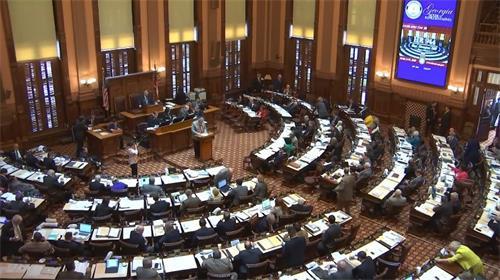 乔治亚州众议院通过决议案谴责中共强摘器官