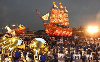 《法船》照耀嘉義燈會 逾4萬人登船