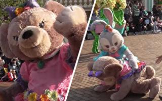 迪士尼人物雪莉玫撑到游行最后一刻昏倒 敬业表现令人心疼
