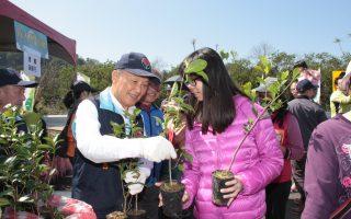 苗縣植樹節登場 免費提供3千株樹苗
