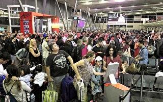 技术故障致登机服务中断 数千乘客被困悉尼机场