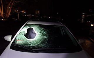 大石從天而降擊穿車 23歲父親高速路被砸身亡