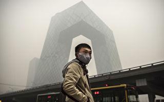 沙尘袭北京 空污爆表 PM10高达3000