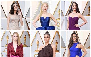 組圖:奧斯卡紅毯 眾星華服美鑽時尚秀