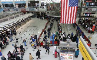 纽约三大机场齐涨薪 2023年涨至19元