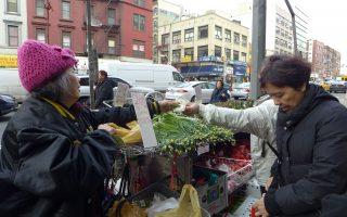 紐約華埠街邊攤 見證唐人街變遷