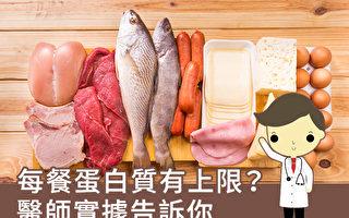 每餐摄取蛋白质有上限? 医师实据告诉你