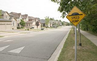 曾立街中促车减速 男子不满市府拒添减速丘