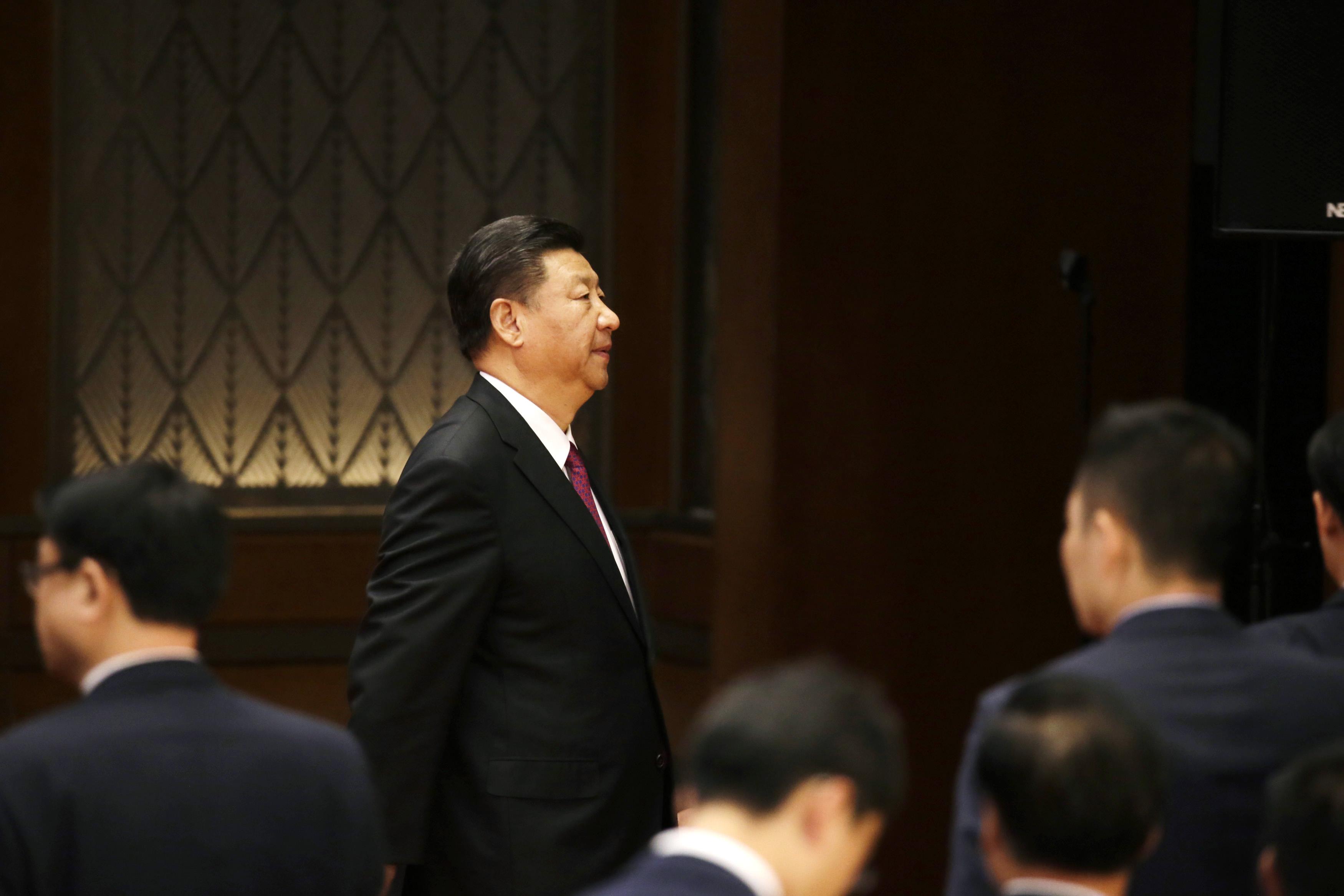 中共總書記習近平近期推動的內循環經濟政策,在官場和民間存在質疑。圖為習近平。(JASON LEE/AFP via Getty Images)