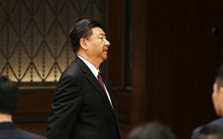 中共近日宣布將修憲取消國家主席任期,外界多研判這代表習近平的權力已登上高峰,5年後連任幾成定局。 (JASON LEE/AFP/Getty Images)