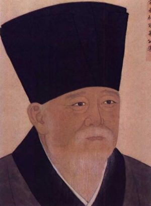 忠膽衛國的寇準。圖是清宮殿藏畫本寇準像。(公有領域)