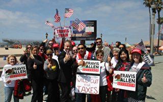 加州州长候选人集3.5万签名抵制庇护州法