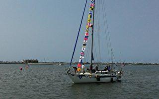 大鵬灣帆船浩蕩出航 海灣旅遊年開啟序幕