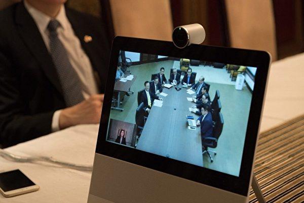 掌握国内情势 蔡英文在非洲视讯国安首长