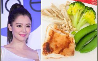 徐若瑄午餐只吃這樣 網友:還有主食沒拍到嗎