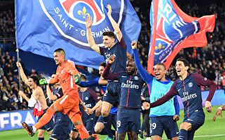 大巴黎狂勝摩納哥 提前五輪奪得法甲冠軍