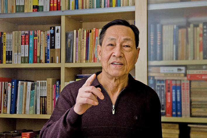 前趙紫陽政治秘書、前中共中央委員鮑彤。(網絡圖片)