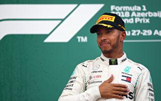 F1阿塞拜疆站:漢密爾頓幸運獲賽季首勝