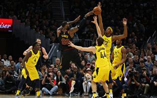 NBA騎士搶七戰勝步行者 晉級次輪戰猛龍