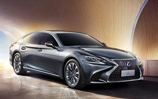 Lexus LS全新第5代房車 融入東方美學設計