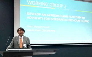 杨智伟出席全球肾脏健康峰会 分享台湾经验
