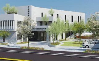 168坪增加到689坪  外埔圖書分館擴建動工