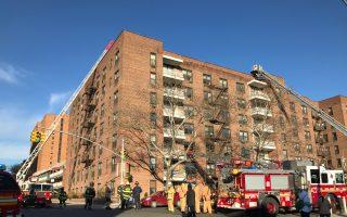 法拉盛寇顿街公寓火灾