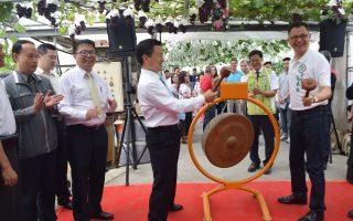 彰化县葡萄观光季首日 农民百万元进袋