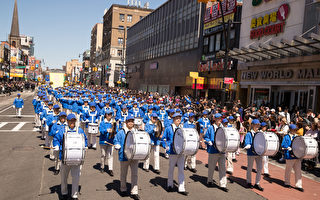 紐約紀念四·二五19周年 華人支持法輪功