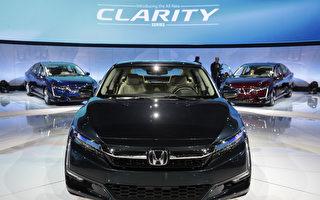 美國賣得最好的10款車 本田Clarity居首