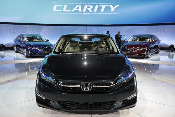 美国卖得最好的10款车 本田Clarity居首