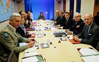 法國外交部長:攻擊敘利亞行動目標已實現