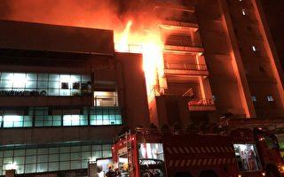 桃园工厂大火烧整夜 酿消防员、移工7死