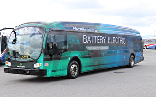 北加州圣马刁县电动巴士将上路 环保又节能