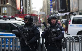 打擊敘利亞後 NYPD加強反恐保安