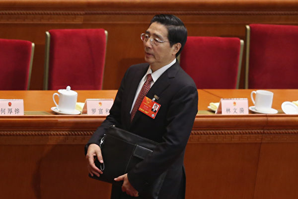 習近平對政法委動刀 郭聲琨四大權力被剝奪