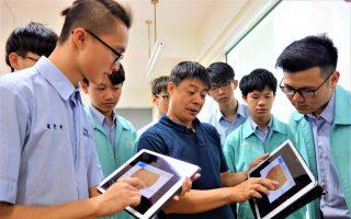 銜接智慧製造市場   台中高工VR融入教學