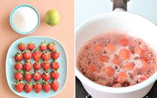 趁着草莓季储1瓶!看完就会做的草莓果酱
