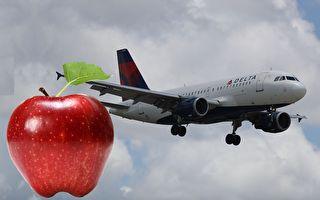 飛機上發的蘋果沒吃 女子帶入美國遭罰500元