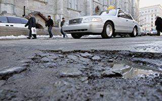 多伦多路坑今年最多 已填13万多 还在填