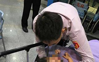 女童突休克 台警7分鐘飆12公里送醫救回一命