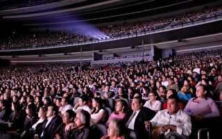 墨國普城五千觀眾齊觀神韻 感恩慈悲信息