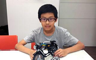 全球最年轻 台湾14岁乐高迷创作达标