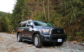 车评:嗜油巨兽 2018 Toyota Sequoia SR5