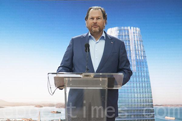 旧金山最高建筑Salesforce摩天大厦正式开张