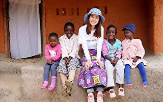 与15岁女儿相见 林心如非洲行有着满满感动