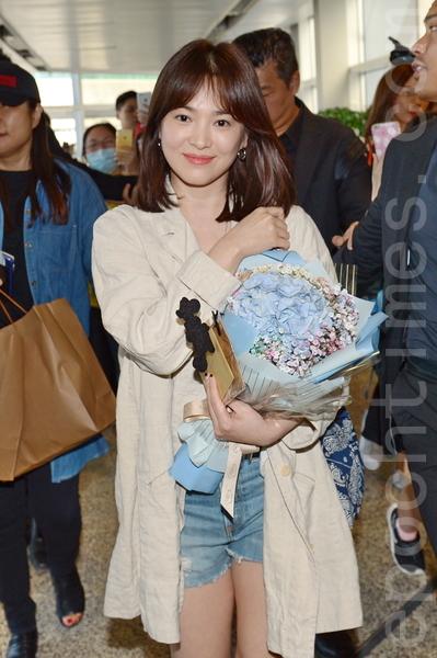 宋慧喬婚後首度到訪香港